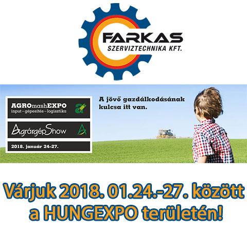 AGROmashEXPO 2018 Budapest